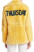 Alberta Ferretti Fur Thursday Jacket