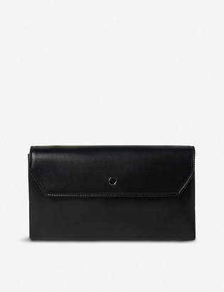 LK Bennett Dora leather clutch
