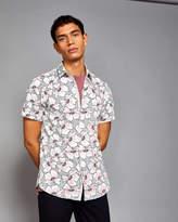 Ted Baker Flower print cotton shirt
