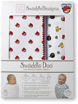 Swaddle Designs Angry Birds Baby Swaddle Duo - Red Birds