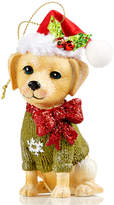 Holiday Lane Yellow Lab Dog Ornament, Created for Macy's