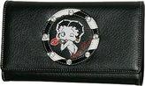 Betty Boop Women's Signature Product Checkbook Wallet BQ1010