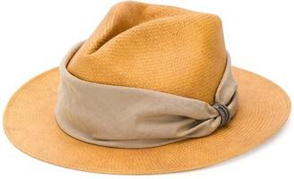 Fabiana Filippi Band Detail Fedora Hat