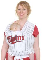 Moby Wrap Moby® MLBTM Edition Wrap Baby Carrier in Striped Minnesota Twins