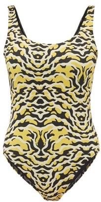 Etro Leopard Print Swimsuit - Womens - Leopard