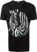 Roberto Cavalli embellished zebra t-shirt - men - Cotton - M