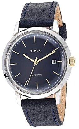 Timex Marlin Automatic (Brown/Silver) Watches