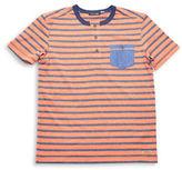Preview Stripe Henley T-Shirt