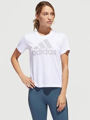 adidas Badge Of Sport Logo T-Shirt - White