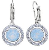 Brilliance+ Brilliance Halo Drop Earrings with Swarovski Crystals