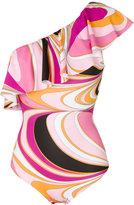 Emilio Pucci printed bikini set - women - Polyamide/Polyester/Spandex/Elastane - 40