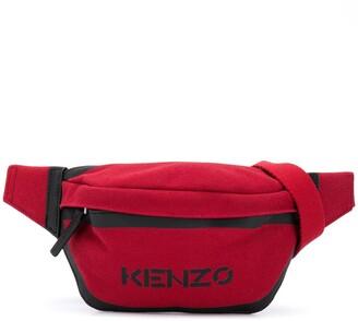 Kenzo Logo Print Belt Bag