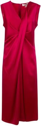 Diane von Furstenberg Sleeveless Gathered Dress
