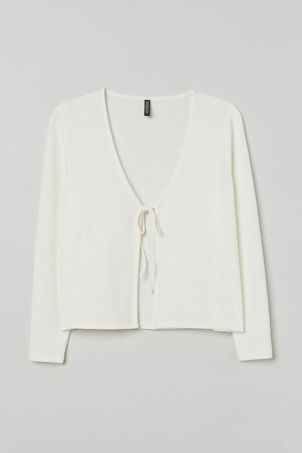 H&M H&M+ Ribbed cardigan