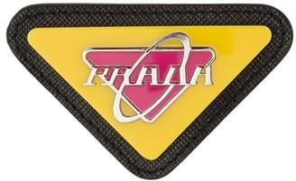 Prada Triangular-Shaped Pin