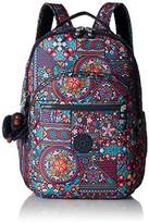 Kipling Seoul L Printed Laptop Backpack Backpack