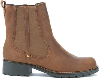 Clarks Women's Orinoco Club Leather Chelsea Boots - Brown