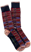 Robert Graham Tintoretto Crew Socks