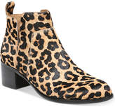 Franco Sarto Richland 2 Leopard Booties Women's Shoes
