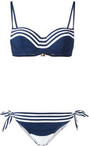 Dolce & Gabbana striped bikini - women - Polyamide/Spandex/Elastane - II