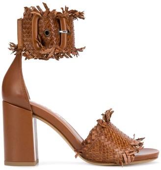 Strategia woven sandals