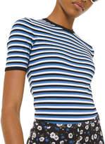 Michael Kors Striped Tee Bodysuit
