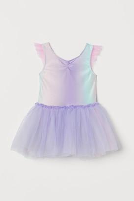 H&M Tulle-skirt Leotard