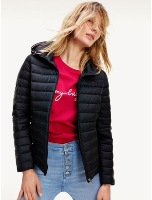 Tommy Hilfiger Packable Hooded Down Jacket