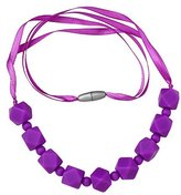 ComfyBaby Beads 'Chunky Monkey' Silicone Teething Necklace BPA Free - Chunky