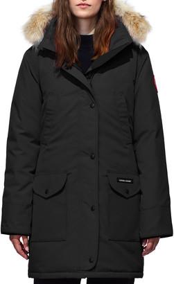 Canada Goose Trillium Down Parka Coat w/ Natural Coyote Fur Trim