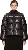 Kenzo Black Oversized Short Down Jacket