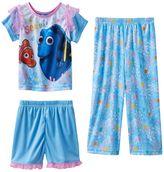 Disney Pixar Finding Dory Toddler Girl 3-pc. Pajama Set