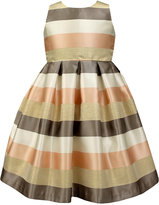 Jayne Copeland Striped Special Occasion Dress, Toddler Girls (2T-5T)