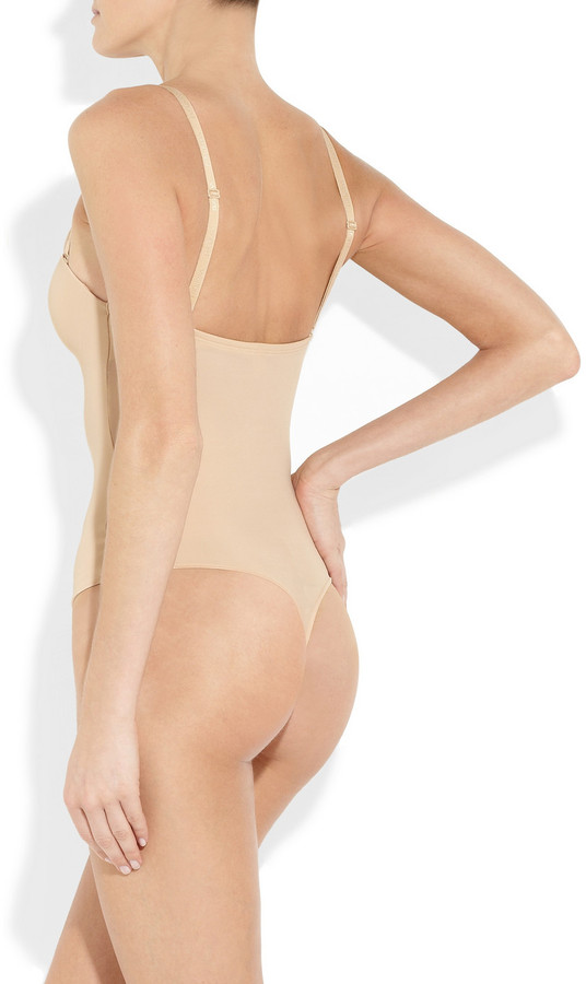 Wolford Mat de Luxe Forming thong bodysuit