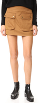 Helmut Lang Patch Pocket Miniskirt