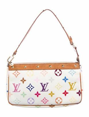 Louis Vuitton Multicolore Pochette Accessoires White