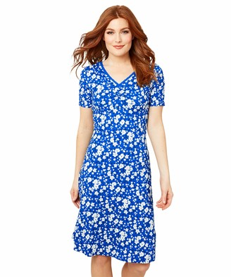 Joe Browns Women's Classic Jersey Floral Print Dress Casual