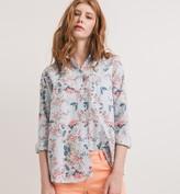 Promod Floral shirt