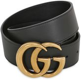 Gucci 40mm Gg Buckle Leather Belt