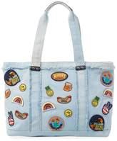 Rebecca Minkoff Women's Denim Cotton Tote Bag