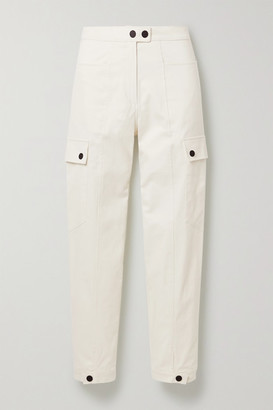 The Range Stretch-cotton Twill Cargo Pants - Off-white