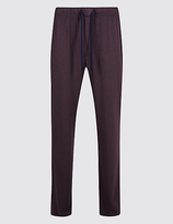 David Gandy For Autograph Modal Blend Striped Long Pyjama Bottoms