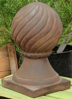Spiral Ball Finial Statue