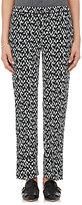 Marni Women's Geometric-Print Silk Pajama-Style Pants
