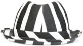 Comme des Garcons striped bucket hat - unisex - Cotton - M