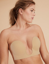 Marks and Spencer Stick On Padded Plunge Strapless Bra
