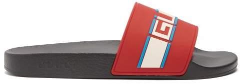 229d7a56809c Gucci Rubber Slides Men