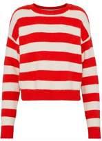 Diane von Furstenberg Striped Wool-Blend Sweater