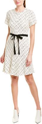 Rebecca Taylor Plaid A-Line Dress