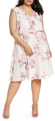 Rachel Roy Odele Ruffle Dress (Plus Size)